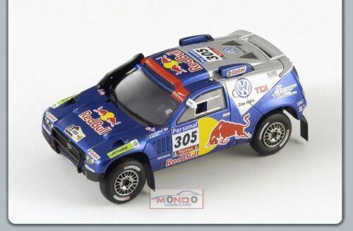 Vw Touareg #305 3Rd Dakar 2010 1:43 Spark Sp0828 Modellino