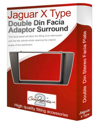 Jaguar X - Type Stereo-Radio Oberschale Verkleidung Adapter Platte Panel Rand CD