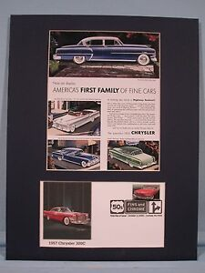 The-1953-Chrysler-Family-of-Cars-amp-First-day-Cover-for-the-1957-Chrysler-300C