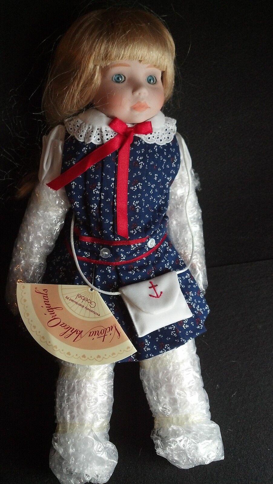 Goebel Victoria Ashlea Doll BY Karen Kennedy  LIMITED Ed 544 100 NIB MIB 1990