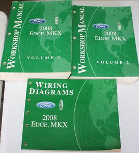 2008 Ford Edge, MKX Service Manual & Wiring Diagram | eBay