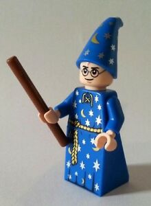 lego harry potter custom harry potter blue wizard robe mini
