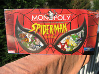 Monopoly Spider-man Collector's Edition 2002new & Factory Sealed