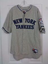 Nike MLB New York Yankees Derek Jeter Gray Road Jersey Size Small