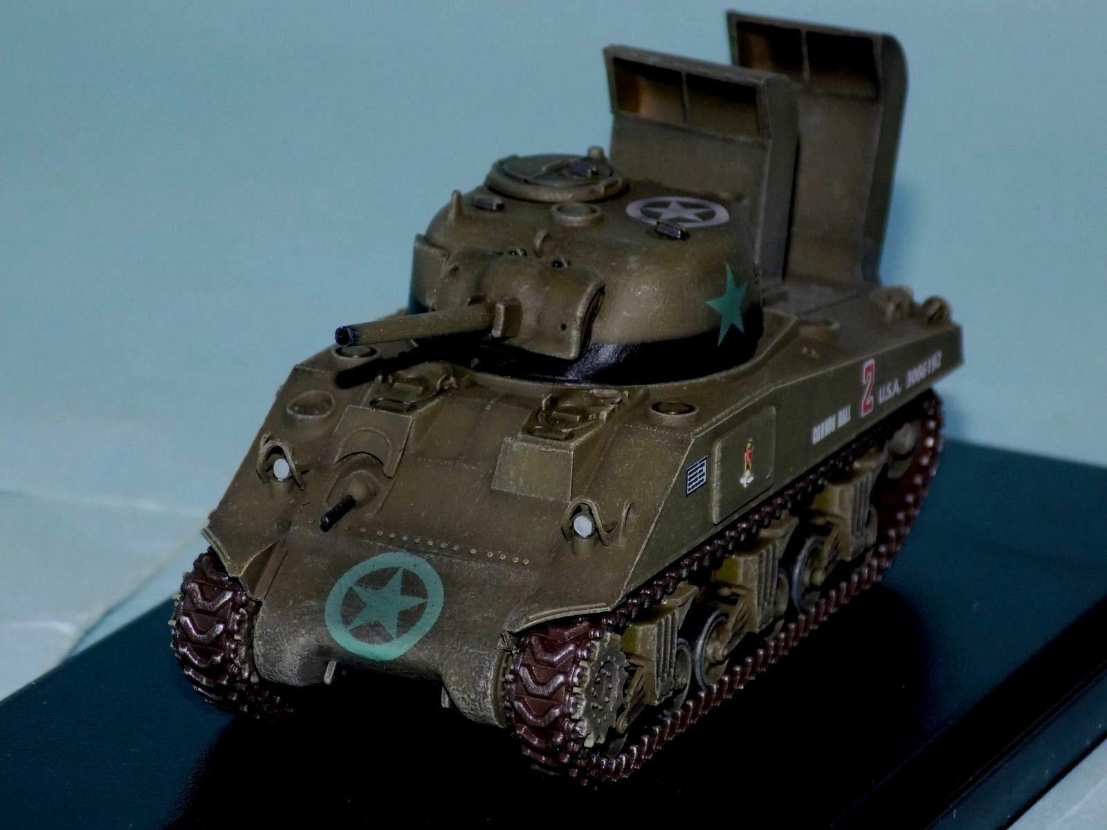 M4 SHERMAN US Army 70th Tank Btn D-DAY NORMANDY 1944 DRAGON ARMOR 60369 1 72