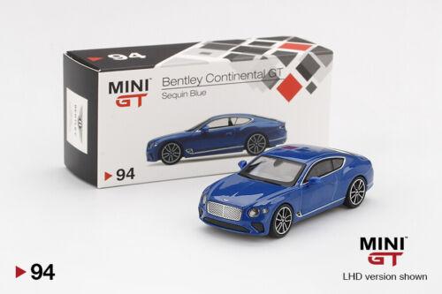 RHD Version Details about  /Bentley Continental GT 2018 ,Scale 1:64 by MiniGT