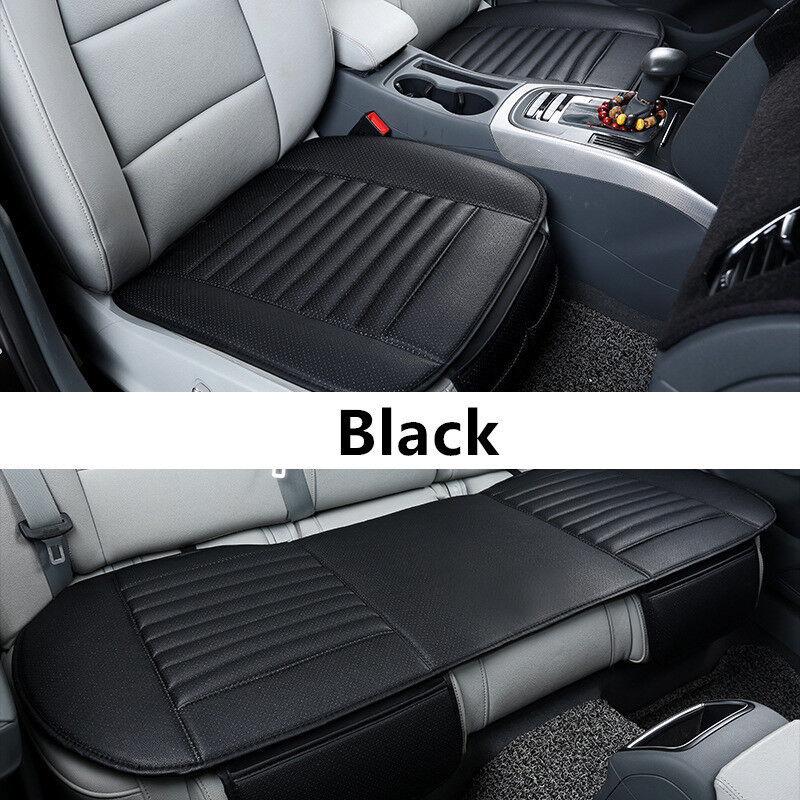 Universal Auto Front Sitzauflage Sitzbezüge Sitzkissen Sitzmatte PU Leder Schutz