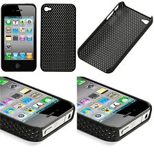 iPhone 4 4S Bumper Schutzhülle Cover Tasche Case in Schwarz