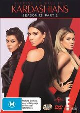 KEEPING UP WITH THE KARDASHIANS SEASON 12 PART 2 DVD R4 NEW 2017 3-Disc Set
