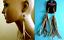 thumbnail 1 - TOPSHOP LONG CHAIN & FAUX SUEDE LEATHER TASSEL FRINGE EARRINGS NEW BOHO