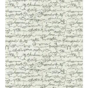 Love word cotton fabric