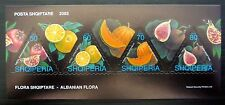 ALBANIA 2003 Flora Self-Adhesive Booklet Complete FP9580
