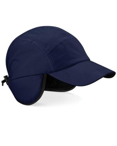 BEECHFIELD Mountain Cappello Impermeabile Taglia Regolabile da Sci Invernali Fodera in Pile
