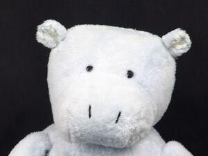Big Bell Stitches Baby Boy Blue Pottery Barn Kids Hippo