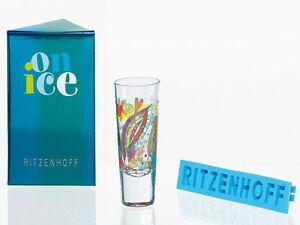 Ritzenhoff-Shortdrinkglas-Shot-Schnaps-Glas-Schnapsglas-On-Ice-Ulrike-Vater-NEU