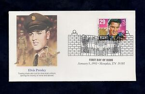Elvis-Presley-First-Day-of-Issue-January-8-1993-Memphis-TN-38101