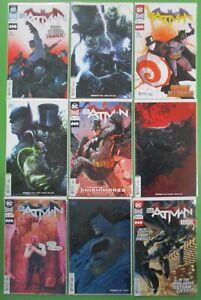 Batman-59-60-61-62-Run-Lot-9-Comics-Variants-NM-VF-Joker-1st-Prints-Tom-King-DC
