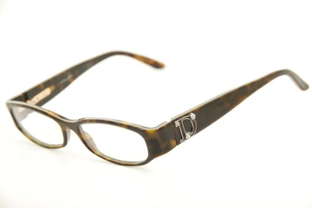b432865aba New Authentic Christian Dior 3113 DUJ Tortoise 52mm Frames Eyeglasses Italy  RX