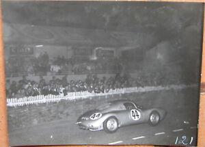 120 . 24 Heures Du Mans . 1953 . Porsche 550 . 1 X Photo De Nuit . Voulez-Vous Acheter Des Produits Autochtones Chinois?