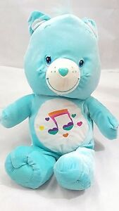 care bear heartsong 9quot plush stuffed music note see