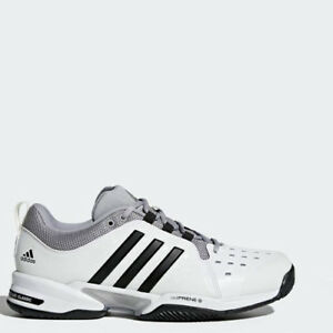 8a75fa22a46 Image is loading Adidas-BY2920-barricade-Classic-Wide-Tennis-shoes-white-