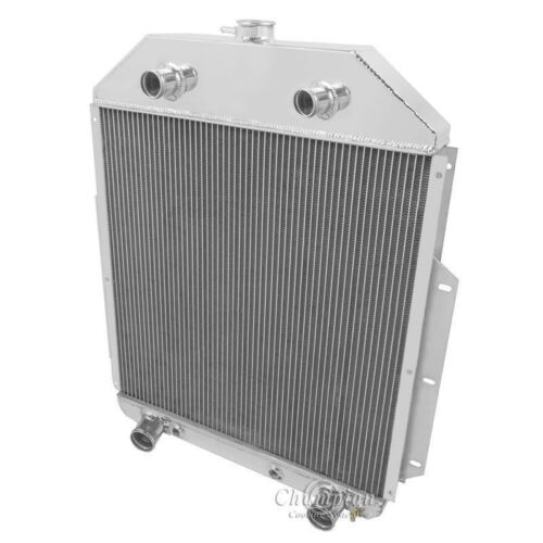 Champion 2 Row Aluminum Radiator EC4252FH For 1942-1952 Ford Truck Flat Head