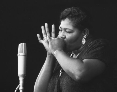 Big Mama Thornton Vintage Photography at the Monterey Jazz Festival D233