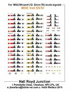 British-Railway-2mm-Signal-Waterslide-Transfers-BR-LMS-SR-LNER-Upper-Quadrants