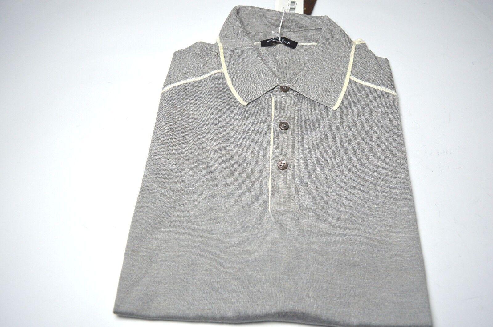 NEW   1740,00 STEFANO RICCI Sweater  Cashmere  Us Size XL Us  54 Eu (COD AE12) 11117e