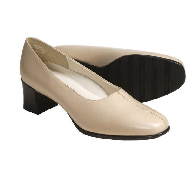 New  120 Munro American Women s Meredith Bone Leather Pump Narrow Dress  Shoes 6N 934aad3750e8