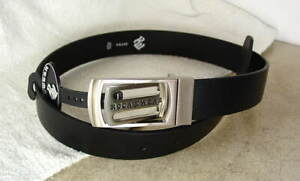 ROCAWEAR-RW-Black-Leather-Dress-Belt-Boys-size-24-NEW-NWT-rw049