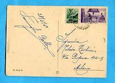 1950 AVV.REPUBBLICA £.5 + DEM.£.1 ann.TAVARNUZZE, 28.05.50   (243249)