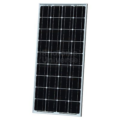 100W monocrystalline solar panel 5m cable for 12V battery motorhome campervan