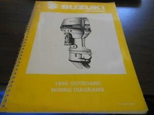 1996 Suzuki Outboard Wiring Diagrams Manual | eBay