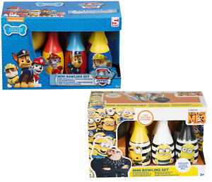 Kids-Bowling-set-MiNi-Skittles-Activity-Game-Paw-Patrol-Minion-Kids-Xmas-Gift-3
