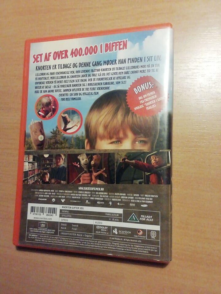 Knorten Gifter sig, DVD, andet