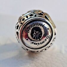 AUTHENTIC PANDORA #791938 GEMINI  STAR SIGN,NEW W/TAGS
