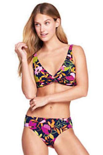 Lands/'End Women/'s Underwire Twist Bikini Top