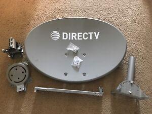Direct Tv Satellite >> Details About Lot Of 4 Direct Tv Directv Slimline Kaku Swm Satellite Hd Dish Kit
