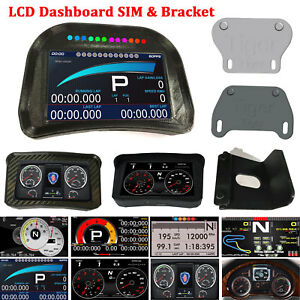 Details about LCD Racing Game Dashboard SIM Simulator For Logitech CSW ATS  ETS2 Dirt3 F1 RRE