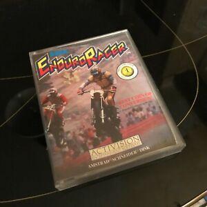 Enduro Racer jeu Amstrad cpc 6128 464 disk non testé + boite