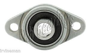 SBPFL206-30MM High Quality 30mm Pressed Steel 2-Bolt Flange Bearing  SBPFL206