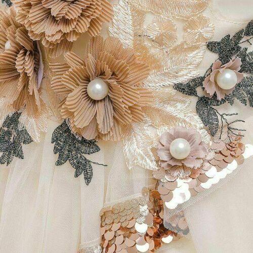 Princess Kid Bridesmaid Dress Dresses Party Baby Wedding Flower Formal Tutu Girl