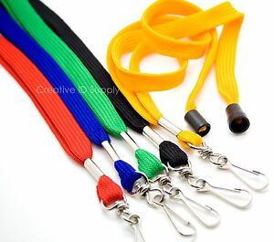 STRAP LOT 50 Breakaway NECK Lanyards For ID Badges