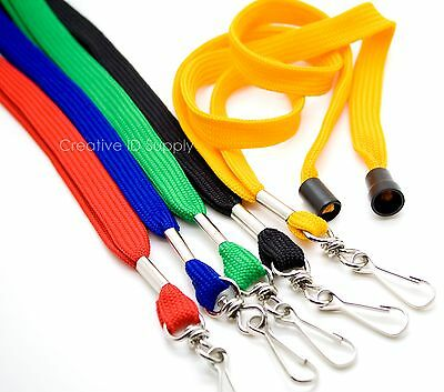 For ID Badges STRAP LOT 500 Breakaway NECK LANYARDS