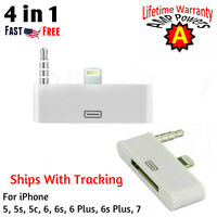New iPhone 4 to iPhone 6 5 Converter And Audio 30 Pin To 8 Pin Adapter Lightning