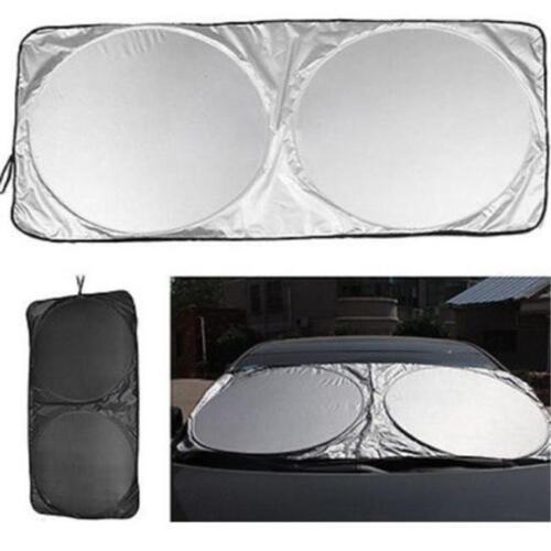 Large Folding Foil Reflective Car Windscreen Front Rear Window Sun Shade LH