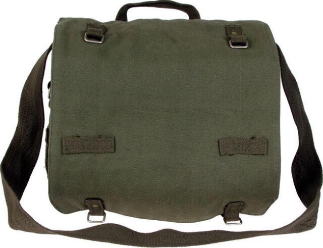 BW Kampftasche groß Umhängetasche Bundeswehr Canvas Tasche Packtasche NEU