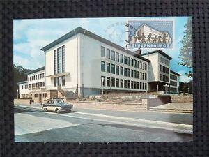 LUXEMBURG-MK-1960-EUROPEAN-SCHOOL-CEPT-MAXIMUMKARTE-MAXIMUM-CARD-MC-CM-c4843