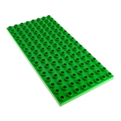 1 x Lego Duplo Bau Platte B-Ware beschädigt hell grün 16 x 8 Noppen 8x16 für Set